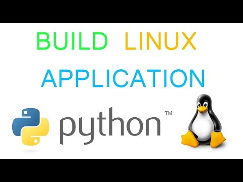 How to build python application to linux executable one file