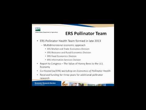 ERS Pollinator Health Team: Overview and Research Highlights - Jennifer Bond