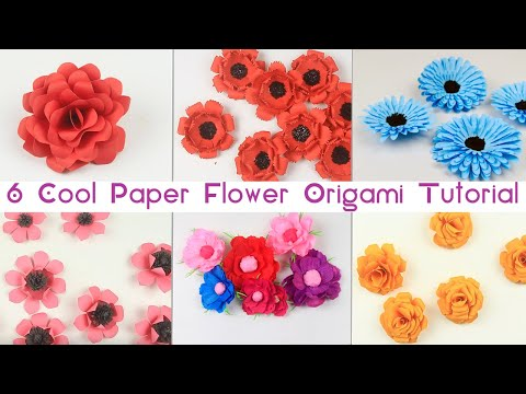 6-unique-paper-flower-origami-step-by-step-|-awesome-paper-fold-trick