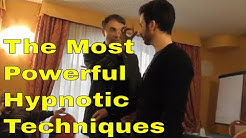 📌The Most Powerful Hypnotic Techniques - Instant Non verbal Hypnosis and Mesmerism!