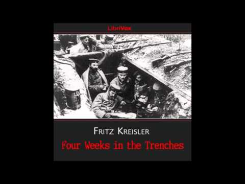 Four Weeks in the Trenches (FULL Audiobook)