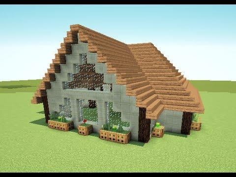 Minecraft Jak Zrobic Ladny Domek How To Build A Nice House 2 Youtube