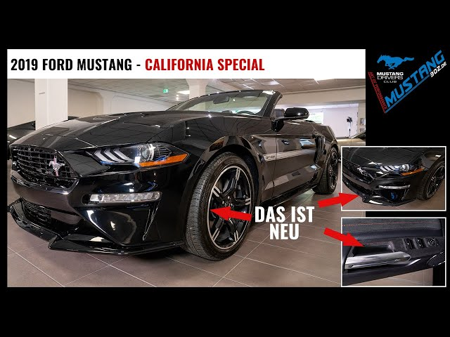 2019 US Ford MUSTANG