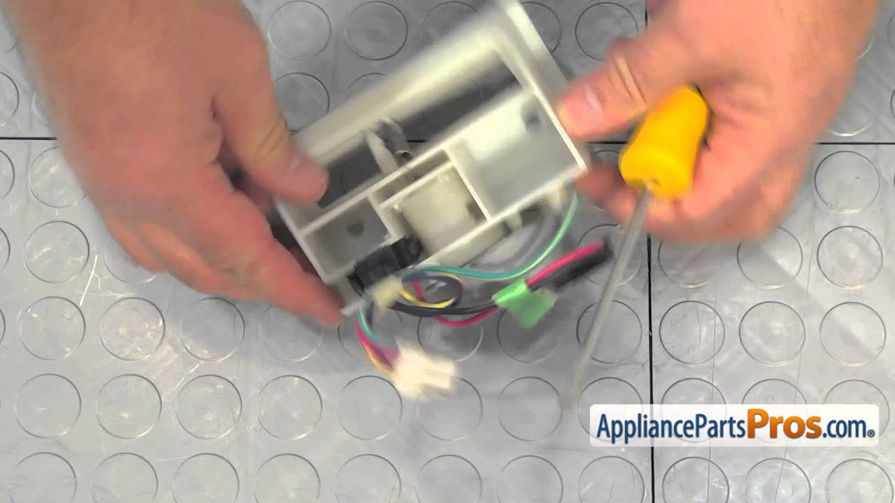 Refrigerator Damper Control (part #WP67003903) - How To Replace