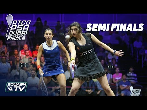 Squash: World Series Finals 2017/18 - Women's SF Roundup