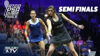 Squash: World Series Finals 2017/18 - Women\'s SF Roundup
