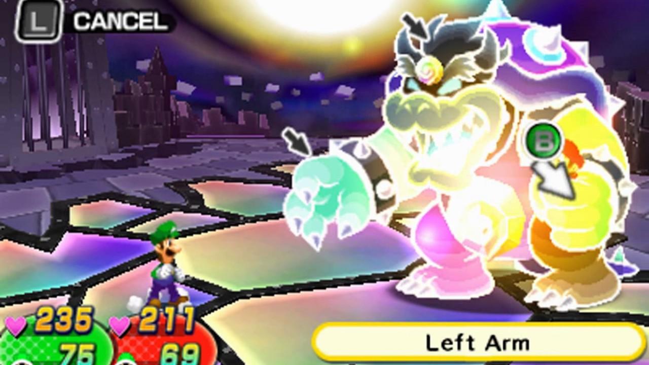 Mario Luigi Dream Team Boss 25 Final Boss Dreamy Bowser