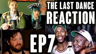 WHAT HAPPENED TO JORDAN's EYES!?! // The Last Dance Episode 7 REACTION!!