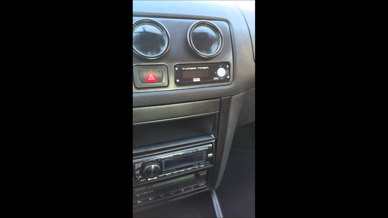 HKS Turbo Timer 1.8t golf 4 - YouTube on gsx turbo, fusion turbo, outback turbo, focus turbo, aveo turbo, tsx turbo, gto turbo, sti turbo, camry turbo, eclipse turbo, cts turbo, gol turbo, r32 turbo, mazda3 turbo, ls turbo, lancer turbo, rs turbo, corvette turbo, accord turbo, maxima turbo,