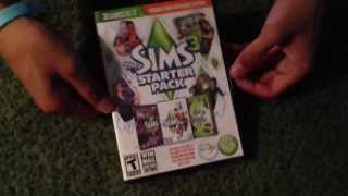 The Sims 3 Starter Pack Unboxing