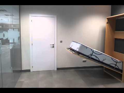 cama abatible vertical abaines