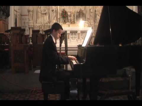 Matthew Treible Piano Recital June 2009