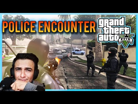 GTA 5 Roleplay BANK ROBBERY $2000,000 - KILLED ME IN POLICE ENCOUNTER l RAGNAR Live Gaming Pakistan