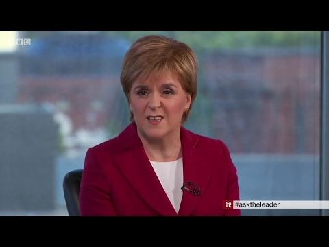 Car Crash - Ask the Leader for GE2017 -  Nicola Sturgeon