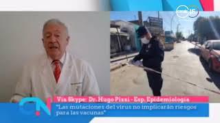 Hugo Pizzi: La situación epidemiológica