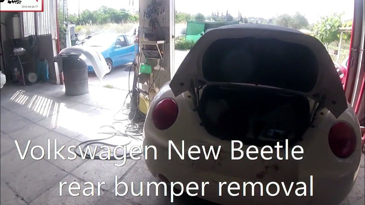 2014 vw beetle front bumper removal