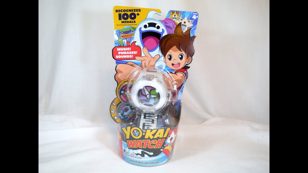 Review yo kai watch roleplay toy youtube for Decoration yo kai watch