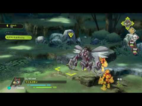 Five minutes of Digimon Survive footage