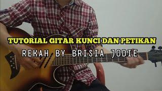 Download Tutorial Gitar Kunci dan Petikan   Rekah By Brisia Jodie   Cover Eric Jatmiko