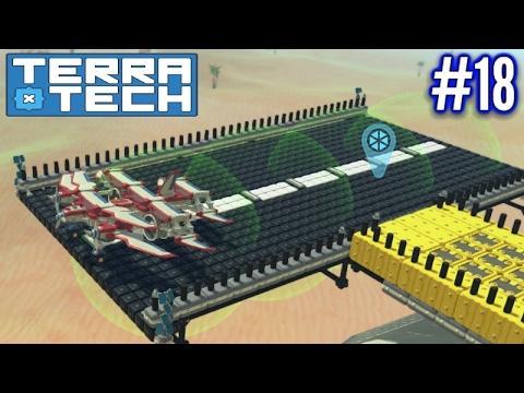 Terratech | Ep 18 | Aircraft Runway & Sand Temple!