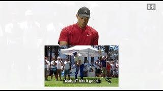 Tiger Woods Gives Justin Timberlake Golf Advice