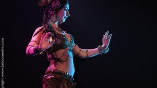 ASHLEY LOPEZ performs bellydance at The Massive Spectacular! 2012 Las Vegas