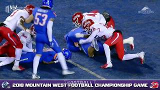 CONDENSED GAME: 2018 Mountain West Championship - Fresno State Bulldogs vs Boise State Broncos