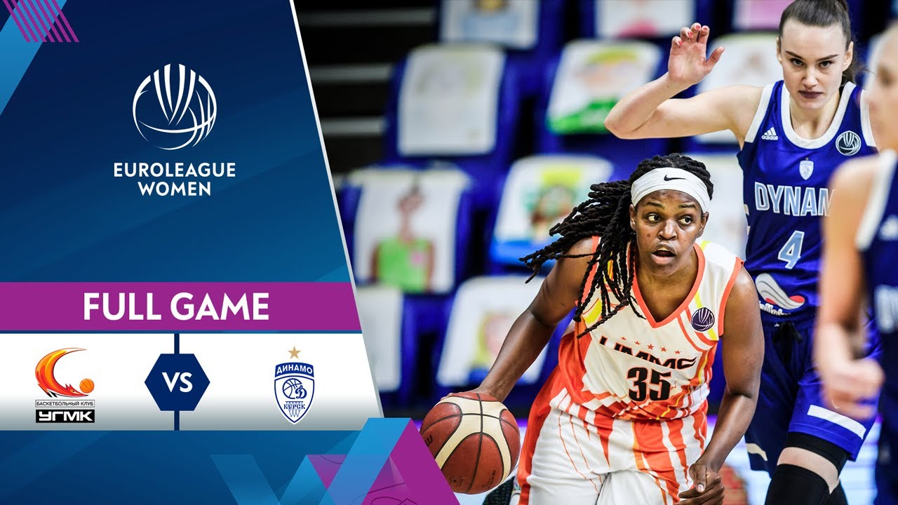 Quarter-Finals Game 2: UMMC Ekaterinburg v Dynamo Kursk | Full Game - EuroLeague Women 2020