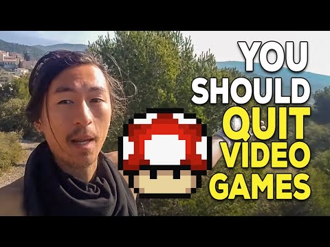 WHY I QUIT VIDEO GAMES AND COMPUTER GAMES