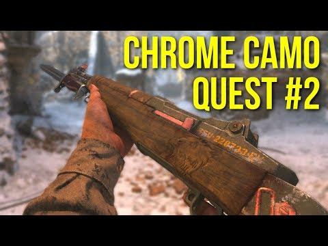 Chrome Camo Quest #2: M1 Garand Call Of Duty: Ww2