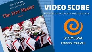 THE FIRE MASTER - Harry J. Lincoln, arr. Antonio Petrillo