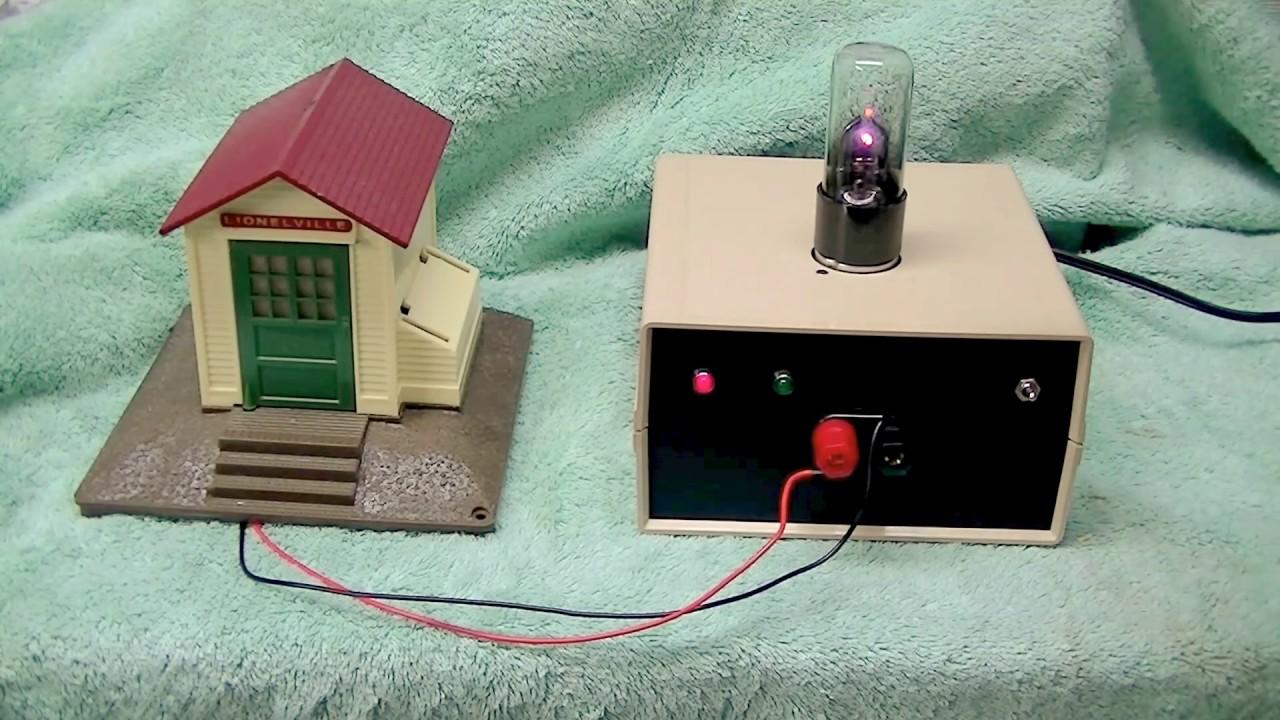 ARGON rectifier tube - vacuum tube radio / electronic Power Supply kit  model train PS