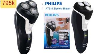 máy cạo râu cao cấp nhãn hiệu Philips at610 hàng nhập khẩu chính hãng