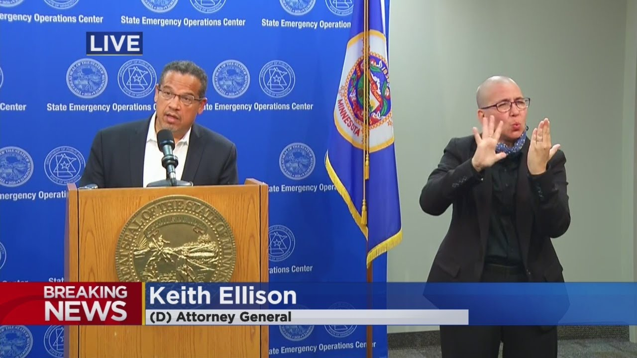 AG Keith Ellison to take over case in Floyd killing