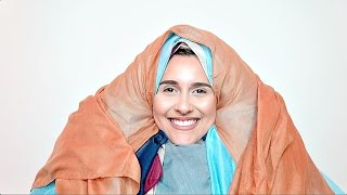 100 LAYERS OF HIJABS!