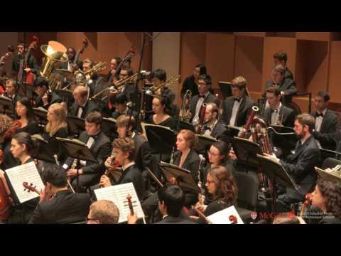 Mahler: Symphony no. 9 ; McGill Symphony Orchestra ; Hauser.