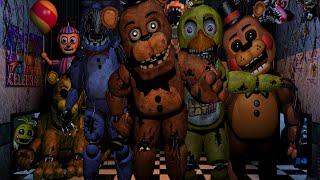 Five Nights At Freddy s 2 GOLDEN FREDDY MODE Custom Night 7 w AciDic BliTzz