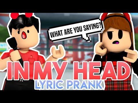 So Sing Roblox Music Video Paulunicorn Ariana Grande In My Head Roblox Lyric Prank Youtube