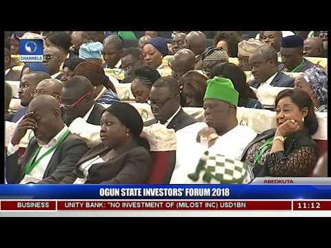 Amosun Counts Successes Of Earlier Forums, Assures New Investors Of Gain Pt.2 |Ogun Investors'Forum|
