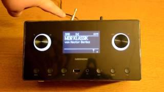 Medion MD87385 WLAN DAB FM Internetradio - Live Test und Vorstellung