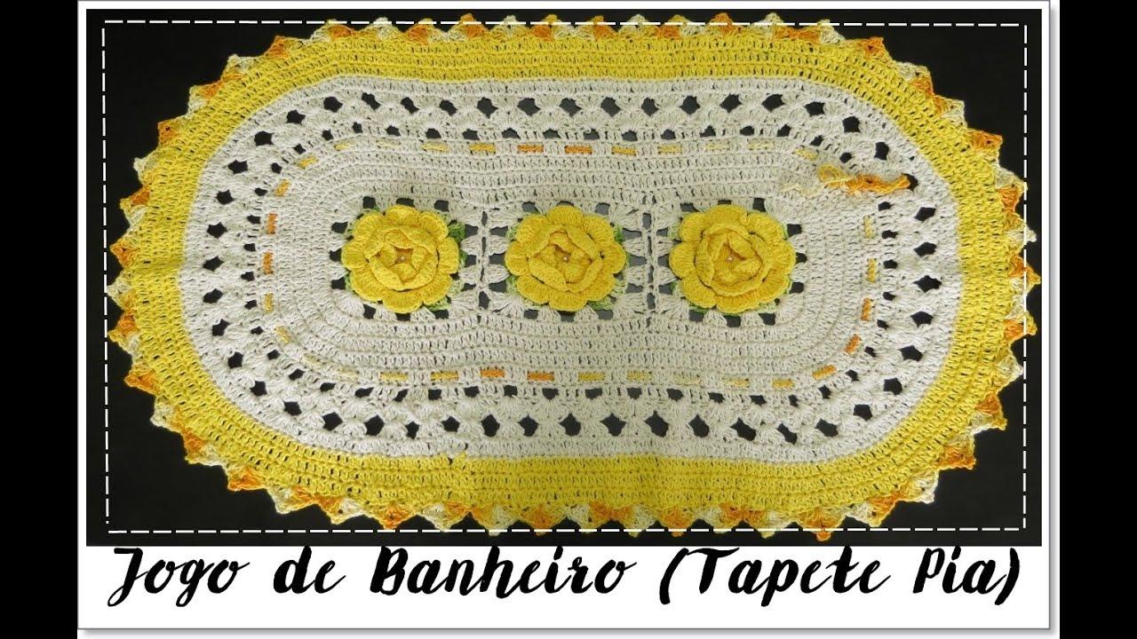 JOGO DE BANHEIRO AMARELO  TAPETE PIA   #AA8E21 1316x856 Amarelo No Banheiro