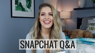 Q&A | My Love Life, How To Find Happiness, Will I Ever Compete & More!