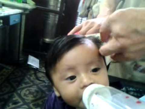 Santino bebe primer corte de cabello tres meses youtube - Tos bebe 6 meses ...