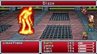 Final Fantasy 5 Advance (GBA) Boss #7 Liquid Flame