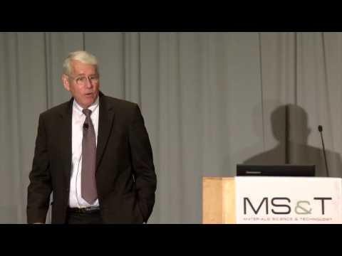 MS&T16 Plenary: David Matlock, part 1