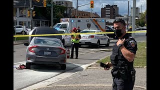 CAUGHT ON CAMERA: One wounded in daylight shooting in Oshawa