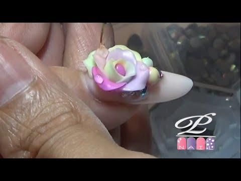 Đắp hoa nổi bằng gel khô không lưu huỳnh, gel 3d, gel pha lê, gel gel vẽ nổi, gel loang