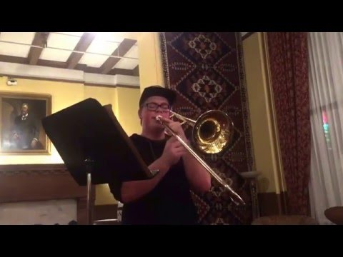 Isaac Williams In A Mellow Tone Berklee Audition