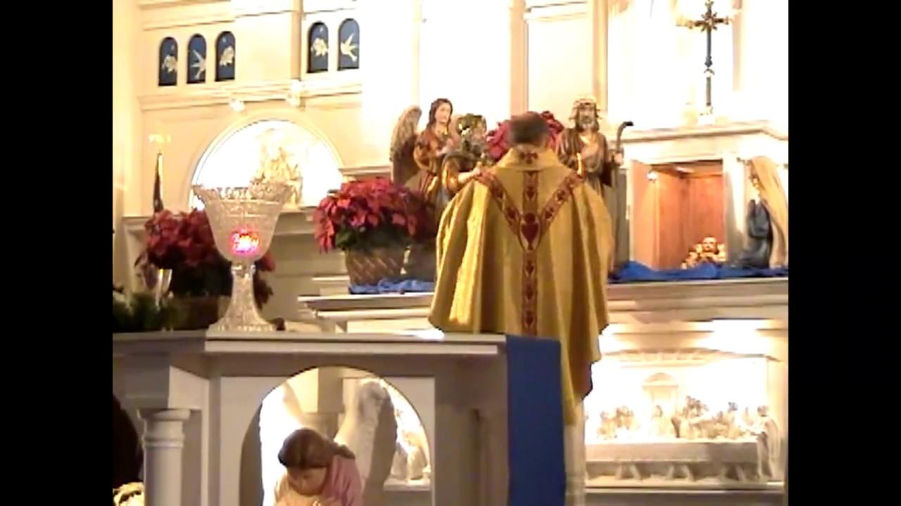 Holy Angels Christmas Eve  12-24-09