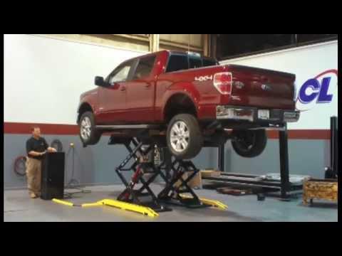 Challenger Lifts Double Scissor Car Lift 7 700 Lb Lifting